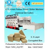 China High Speed Packaging Paper Carton Making Machine Of Cardboard , PLC Control on sale