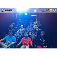 China Mobile 5D Movie Theater With Truck And Usually Set 9 Seats Electronic Motion Chairs wholesale