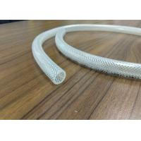China 3 / 8 Inch Clear PVC Braided Pipe / Polyester Reinforced Plastic Hose wholesale