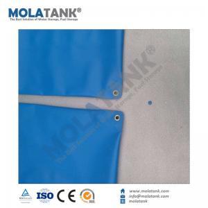 China Molatank 1000L 2000L 3000L 5000L Soft PVC Fire fighting flexible Pillow Shape bladder tank on sale