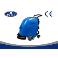 China Mini Floor Scrubber Dryer Machine With Power Lines , Concrete Floor Cleaning Machine wholesale