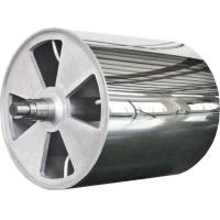 China Large Diameter Mirror Roller Non-Standard Product , Leather Embossing Rolls wholesale
