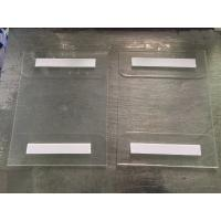 Quality 8.5x11 Vertical Horizontal clear acrylic Sign Holder With Adhesive Tape,OEM 8.5*11 wall amount sign holder for sale
