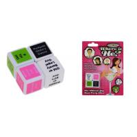 China Custom Funny Adult Dice Games Plastic Sex Toys For Man And Woman wholesale