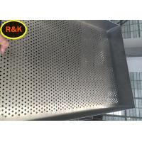 China Crimping Stainless Steel Wire Mesh Trays Custom Length One Time Forming wholesale