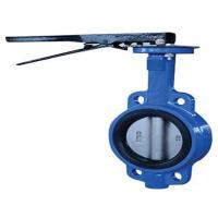 China 48 inch Pneumatic Flanged Butterfly Valve , DN50-1200 Wafer Type Butterfly Valve wholesale
