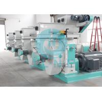 China Cotton Stalk Ring Die Wood Pellet Machine With Automatic Lubrication System wholesale