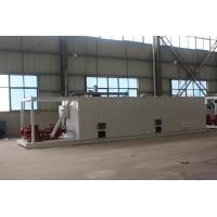 China Oil and gas well mud system mud tank for sale at Aipu solids control wholesale