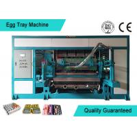 China Powerful Automated Rotary Egg Tray / Fruit Tray Moulded Machine 4000pcs/h on sale