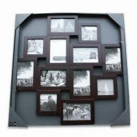 China Collage Photo Frame, Made of Wood, Available in Various Sizes and Colors, FSC Marks wholesale