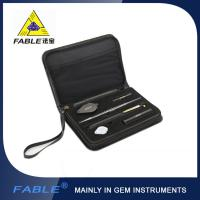 Portable Diamond Tester , Gemological Portable Identification Tool Kit with 6 Items FGB-6