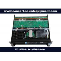 Quality Church Audio Equipment / Class TD , 4 Channel 4x1300W  FP 10000Q Switching Amplifier for sale