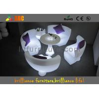 China Colored Glowing Furniture LED Sofa By Remote Control & Rohs wholesale