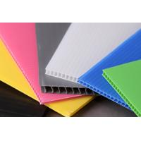 China Light Weight Rigid Strong Polypropylene Hollow Sheet For Building Construction wholesale