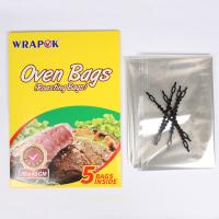 China High Temperature Resistant PET Plastic Oven Turkey Roasting Cooking Bags wholesale