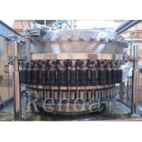 China Automatic Beer Bottle Filler Machine With Washing / Filling / Capping Function wholesale