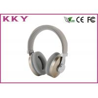 China Comfortable Over Ear Bluetooth Earphones With Stainless Steel Shell wholesale