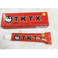 China 38% TKTX Eyebrow Instant Anesthetic Sticker Skin Numbing Cream For Tattoos on sale