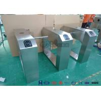 China Pedestrian Turnstile Gate With ID/IC Reader Access Control Time Attendence System wholesale