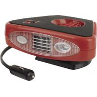 China Triangle Red And Black Portable Car Heaters  2 In 1 Useful For Vhicle wholesale