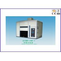 China Electric Wire Flame Test Chamber , Flame Test Apparatus For Finished Wire / Cord wholesale