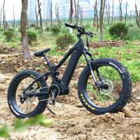 China Aluminum Frame E Fat Bike , Fat Electric Bicycle With 26*4.0 Kenda Fat Tire wholesale