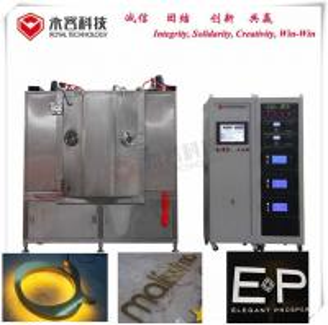 China Metal Alloy Lighting Pvd Coating Equipment / Cathodic Arc Vacuum Coating Machine, DC/MF Sputtering System wholesale