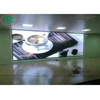 Buy cheap Professional SMD LED Screen Full Color 40000 Dots/Sqm Iron Cabinet from wholesalers