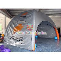 China 0.6mm PVC Inflatable Shelter Tent With Air - Welded PVC Tarpaulin wholesale