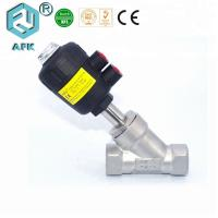 China 1/2 Inch Pneumatic Pressure Control Valve With Plastic Actuator PTFE Seal wholesale