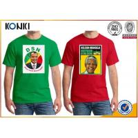 China OEM Election Campaign Custom T Shirt 100% Cotton For Election Advertising wholesale