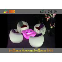China H41cm Plastic Coffee LED Bar Tables Change Colors Via Remote Control wholesale