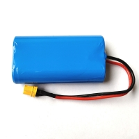 China 7.4V 2000mAh 18650 Lithium Rechargeable Battery For Massager wholesale