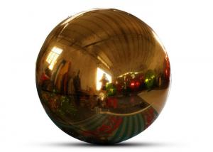 China Giant Event Decoration PVC Floating Sphere Mirror Balloon Disco Shinny Inflatable Floating Mirror Ball For Christmas wholesale