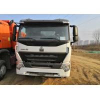 China White Howo 6x4 Tipper Truck 3 Axle Dump Truck Heavy Duty 30 Tons Loading wholesale
