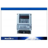 China Card Prepayment Electric Energy Meter , Surge Protection Wireless Power Meter wholesale