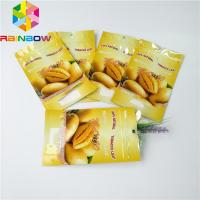 China 250g 500g Dries Fruit Foil Pouch Packaging Custom Foil Lined Bottom Gusset Stand Up Bags wholesale