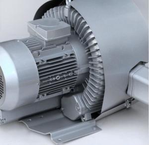 China Aluminum High Pressure Vacuum Blower , 5.5kw Double Stage Air Vacuum Blower wholesale