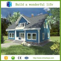 China Modern easy installation luxury prefabricated houses family type wholesale
