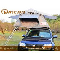 China Waterpoof Overland Car Roof Top Tent For Camping , Popular Car Top Camper Roof Tent wholesale