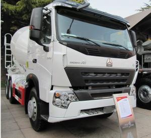 China 8cbm Cement Mixing Trucks , Concrete Mixing Transport Truck 336 HP wholesale