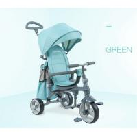 China Easy Drag Folding Baby Tricycle Bike High Carbon Steel Frame For Kids wholesale