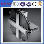 China NEW! 6000 series aluminum curtain wall extrusion profiles, china aluminium profiles wholesale