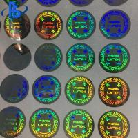 China 3D Hologram Labels Stickers Heat Resistant With Strong Sealing Performance wholesale