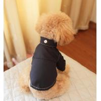 China Custom Poodle Pet Apparel / formal dog tuxedo dress wear S - XL  puppy clothing on sale