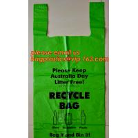 China Large/Regular Grocery Size,Oxo-Biodegradable Plastic Shopping Bags, Thank You Printed, 13 Micron, HDPE, 1000 Bags/Box on sale