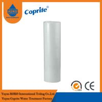 China 20B 1 / 5 Micron White PP Sediment Water Filter Cartridge For Water Filter wholesale