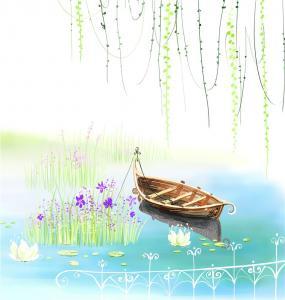 China Cartoon Style Bamboo Fiber Board Decorative Wall Panels For Living Room wholesale