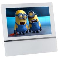 Quality 21.5inch White Media Player 1080p High Definition Video Display Screen Android Network Advertising Display with WIFI for sale
