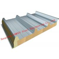 China Recycled Usage Fire Resistant Rock Wool Sandwich Panels Easy Installation Roof Systems wholesale